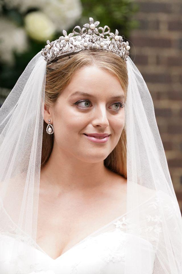 flora ogilvy timothy vesterberg wedding  london