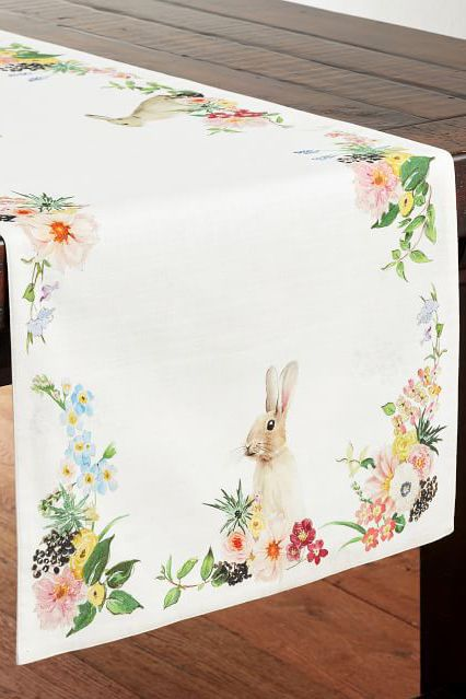 10 Best Easter Table Runner And Tablecloths Cute Table