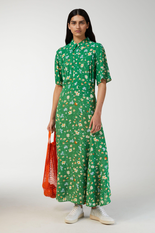 summer city dressing: floral dress