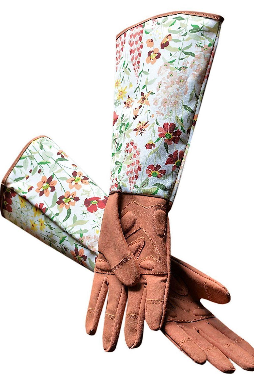 floral gardening gloves for mom