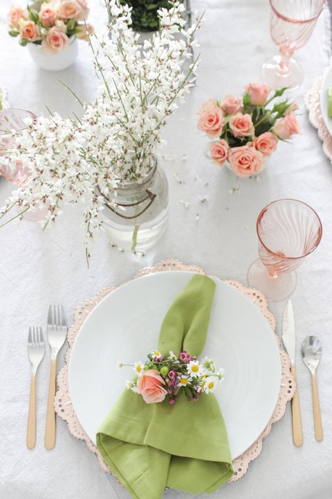 floral table decorations