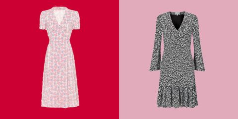flowery tea dresses