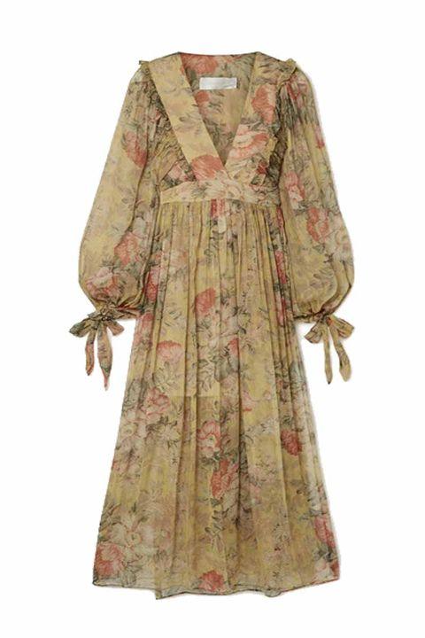 Zimmermann Melody floral-print silk-crepon maxi dress