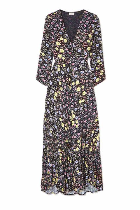 Rixo london Katie floral-print crepe midi dress