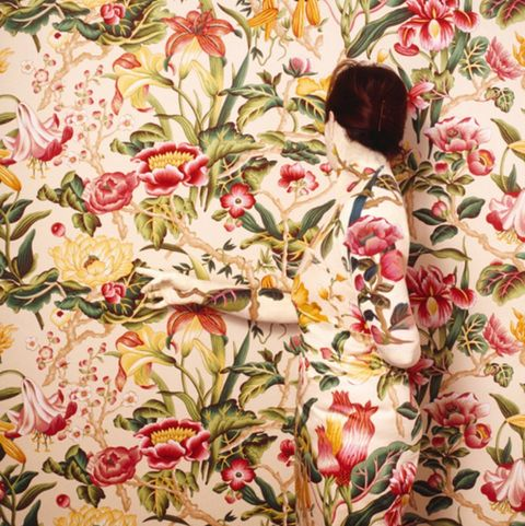 Textile, Flower, Botany, Plant, Pattern, Floral design, Art, Still life, Tapestry, Visual arts,