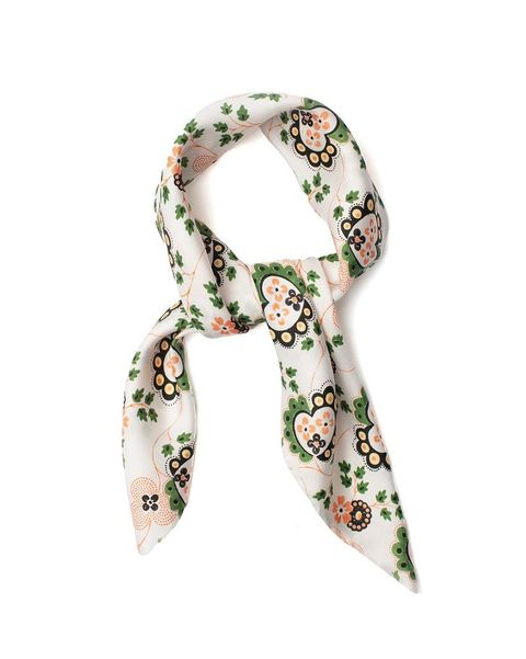 shrimps silk floral scarf