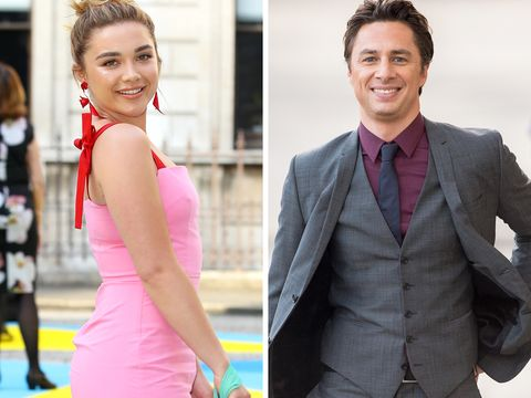 Florence Pugh N >> Florence Pugh And Zach Braff Went Out On A Casual Date Night