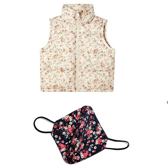 ropa y complementos de flores