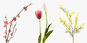 Flores artificiales Zara Home