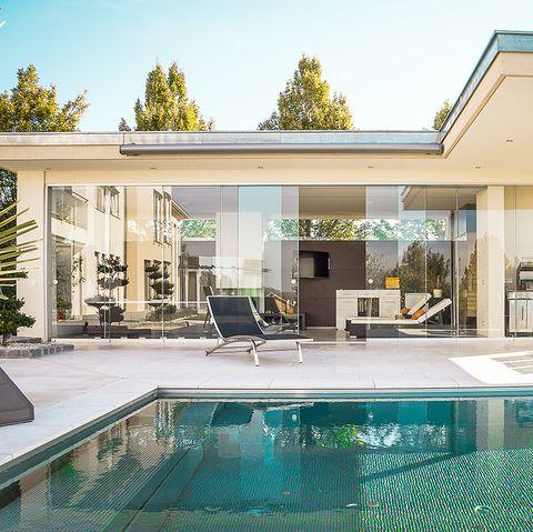vistas de interiores y exteriores de viviendas con acristalamientos sgg climalit plus