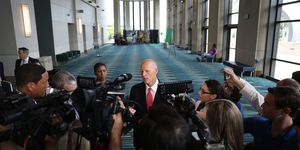Governor Scott Speaks At Hurricane Conference In West Palm Beach