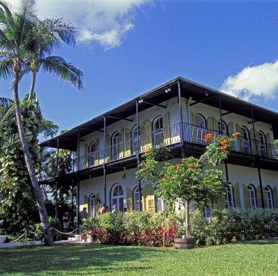 usa, florida, key west, ernest hemingway house