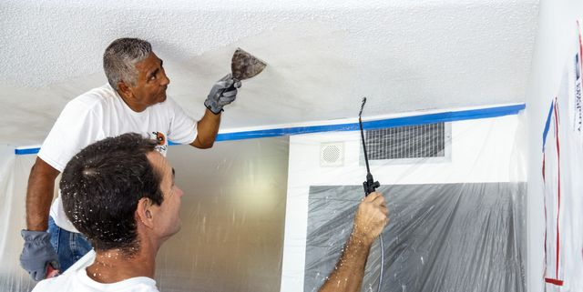 Popcorn Ceiling Removal How To Remove Popcorn Ceiling
