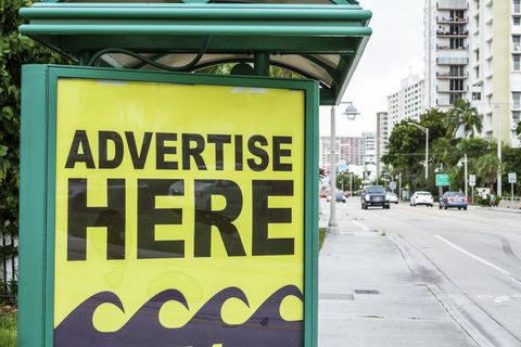 florida, pompano beach, bus shelter available ad space