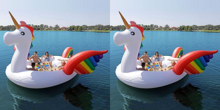 Flotador unicornio gigante vas a querer este flotador de - Flotadores gigantes ...