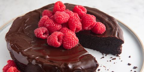 Flourless Chocolate Cake Horizontal