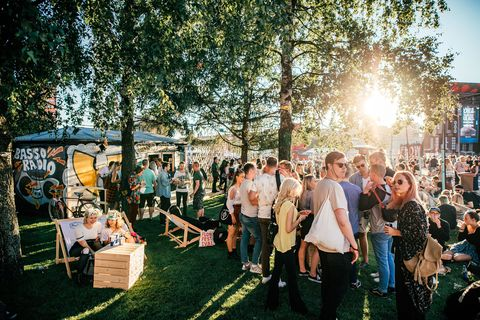 Public space, Crowd, Human settlement, Party, Market, Ceremony, Marketplace, Block party, Festival, Flea market,