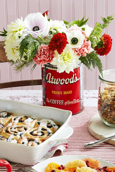 flower arrangements coffee can