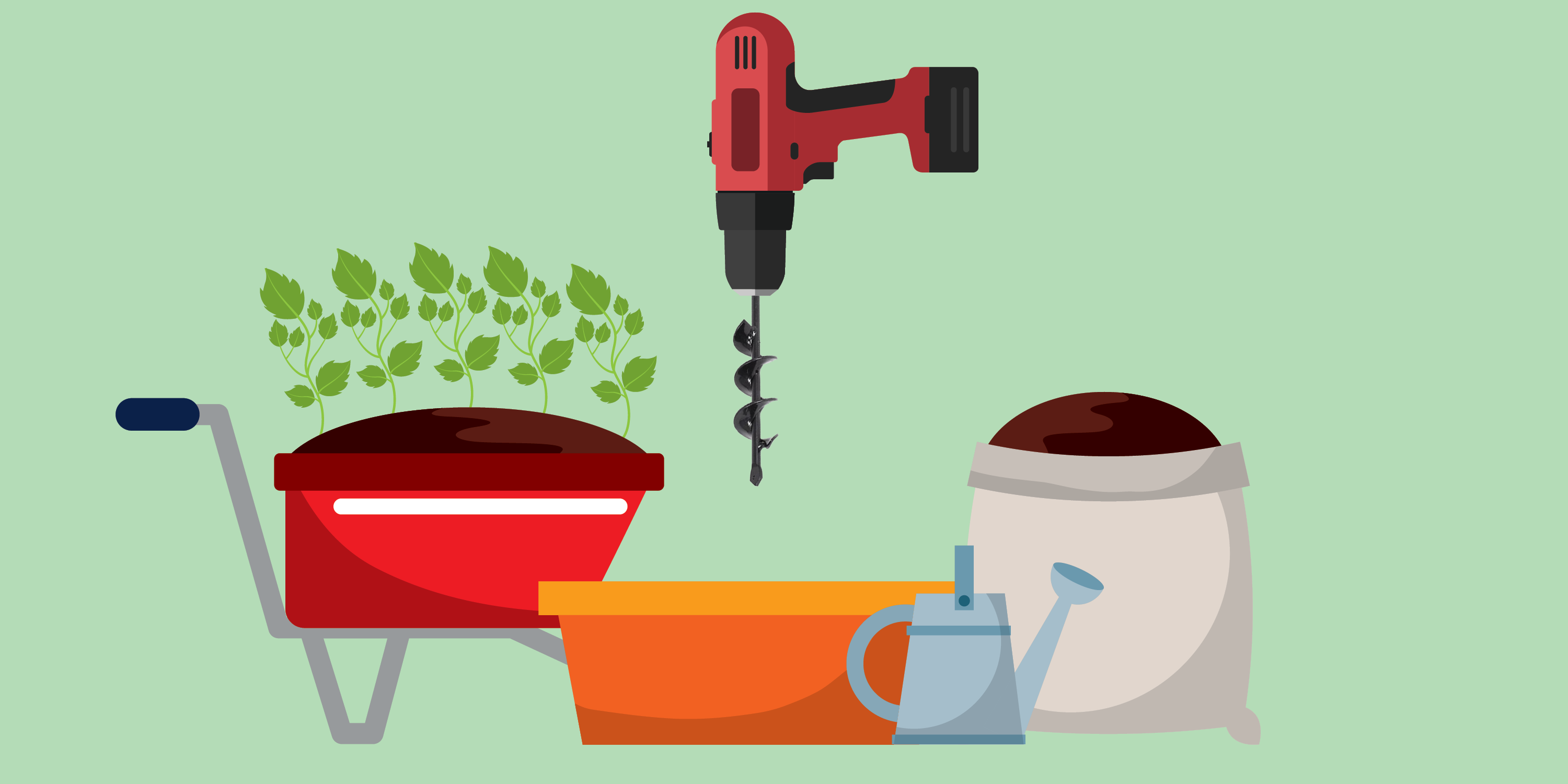 This Gardening Tool Helps You Digs Holes In Seconds