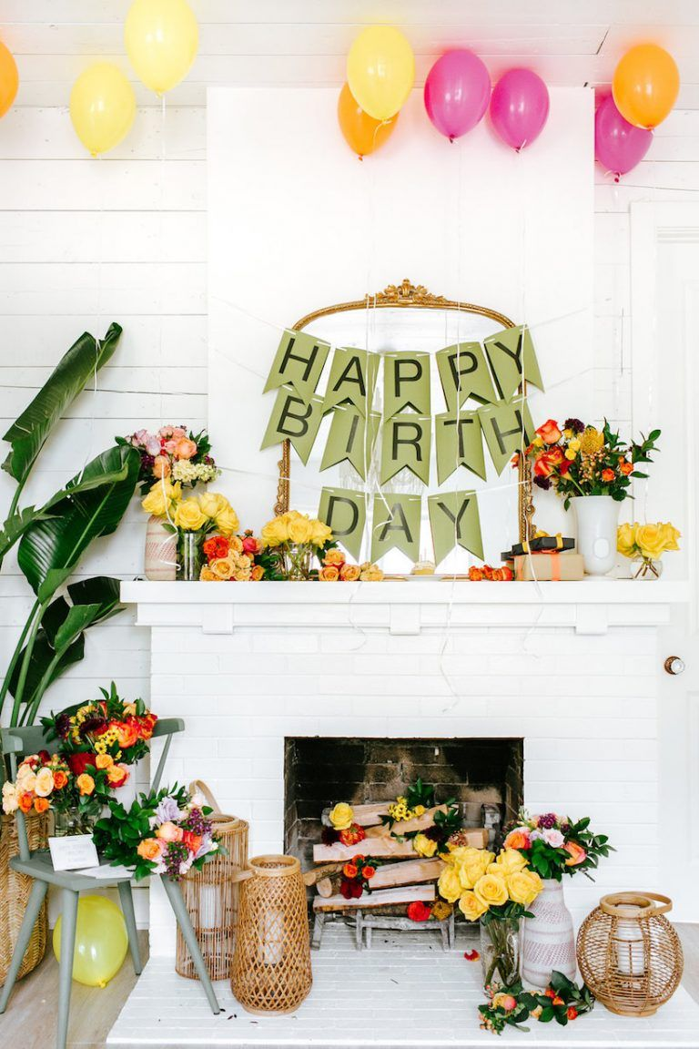 20 Diy Birthday Party Decoration Ideas Cute Homemade Birthday Party Decor