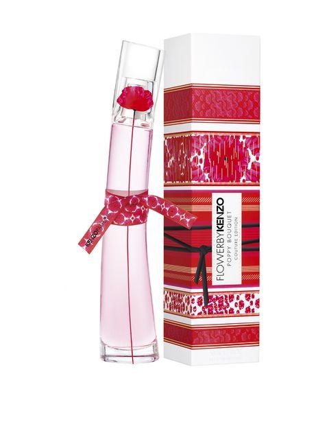 kenzo, flower by kenzo, profumo, poppy bouquet, couture edition