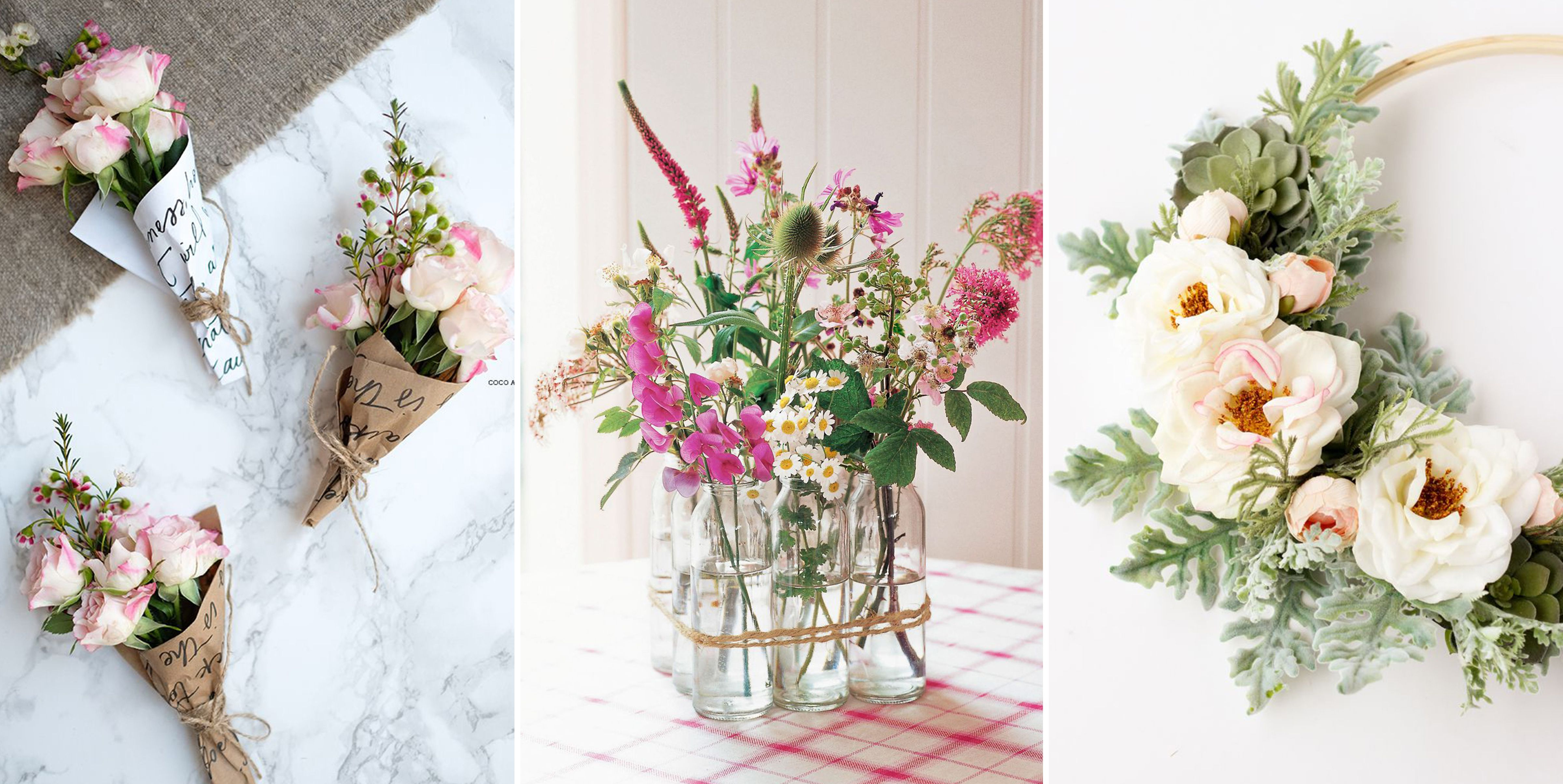 25 Beautiful Flower Crafts for Spring