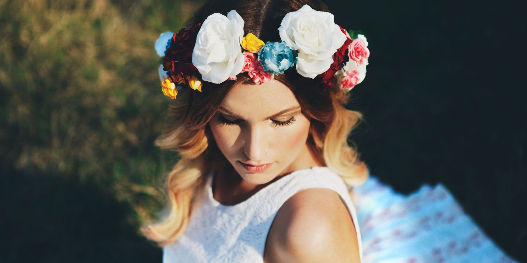 How to make an easy diy flower crown step by step flower crown how to make an easy diy flower crown step by step flower crown tutorial izmirmasajfo
