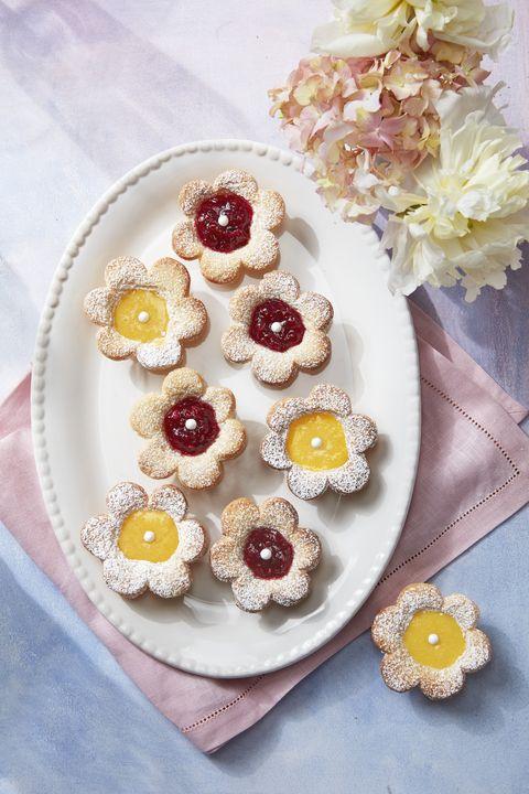 flower fruit tarts