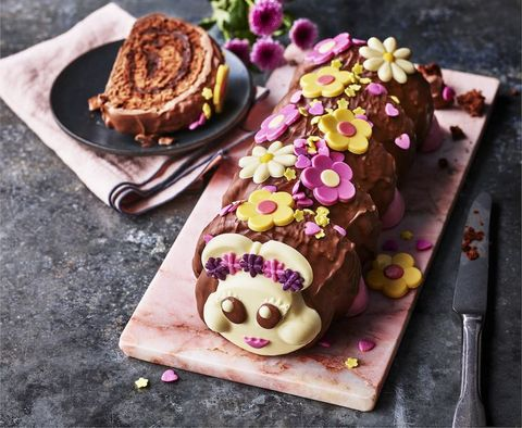 ms connie the flower power caterpillar cake