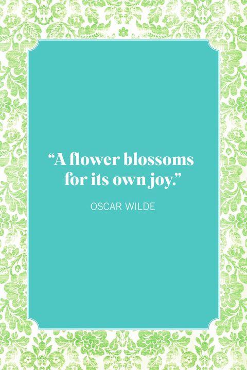flower quotes oscar wilde