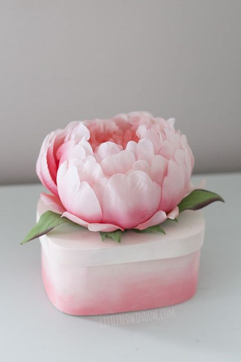 Flower Trinket Box - DIY Mother's Day Gifts
