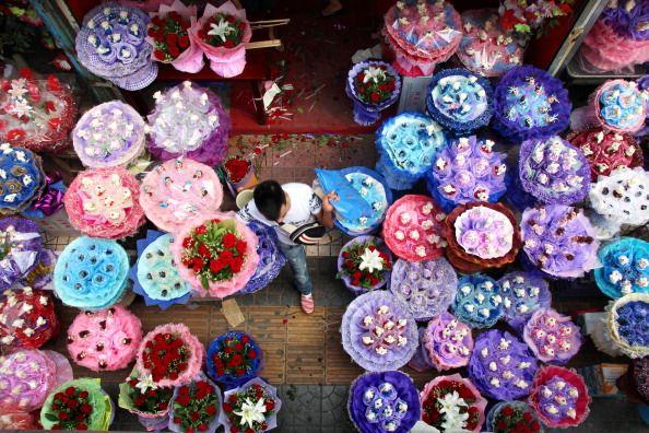 chinese valentine's day celebrated over china