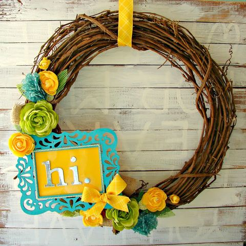 Florals - Summer Wreaths