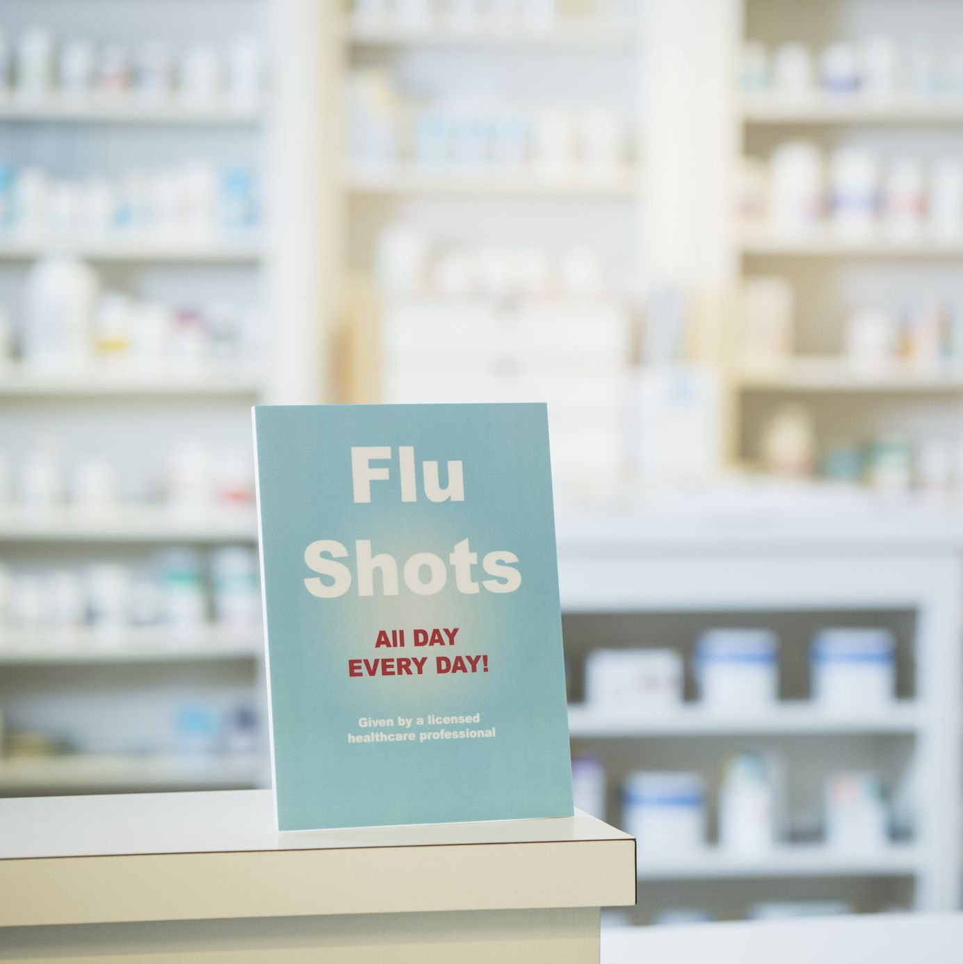 Get Your Flu Shot When you're young and lazy, you might risk not getting a shot—but once you hit 30, you have no excuse. Don't just get it for your own sake, either—if you get the flu, you can't spread it to anyone else.