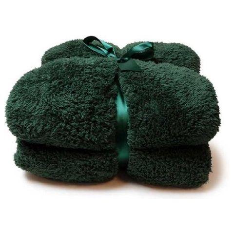 fluffy plaid   knuffeldeken