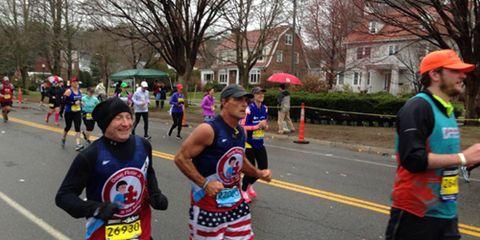Doug Flutie Boston Marathon