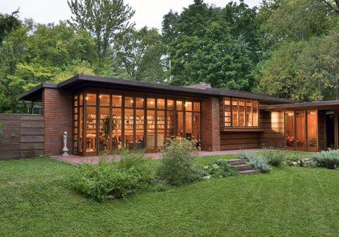 Herbert e Katherine Jacobs House (costruita nel 1936-1937, Madison, Wisconsin)