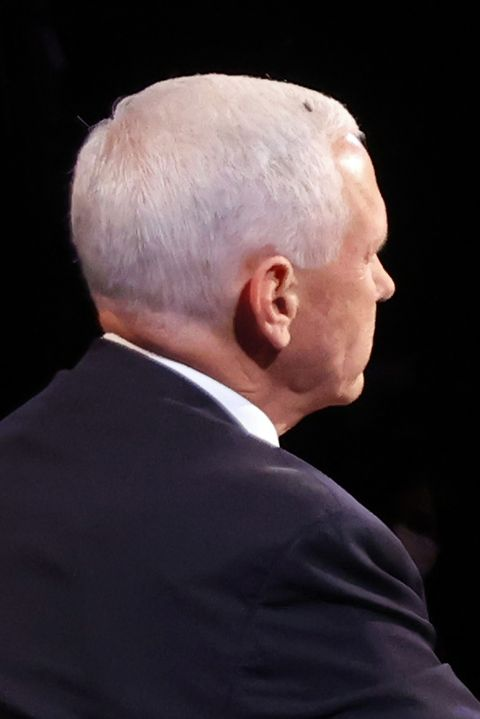Майк Пенс и Камала Харрис принимают участие в дебатах вице-президента