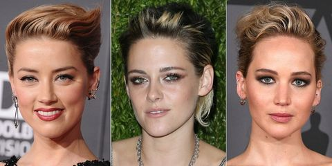 Why the flyaway fringe is party season's coolest hairstyle