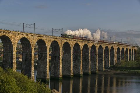 Steam train rides: Flying Scotsman