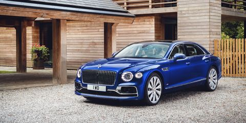 the 2020 bentley flying spur first edition