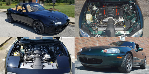 Flyin' Miata-Built V8 Miatas for Sale - LS Swap MX-5 for Sale