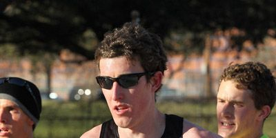 Ricky Flynn at the 2012 Olympic Marathon Trials