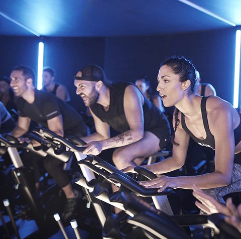 Indoor cycling, Event, Room, Performance, Exercise, Leisure, Stage, Team,