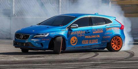 Land vehicle, Vehicle, Car, Rallycross, Volvo cars, Automotive design, Hatchback, Volvo v40, Mid-size car, Touring car racing,