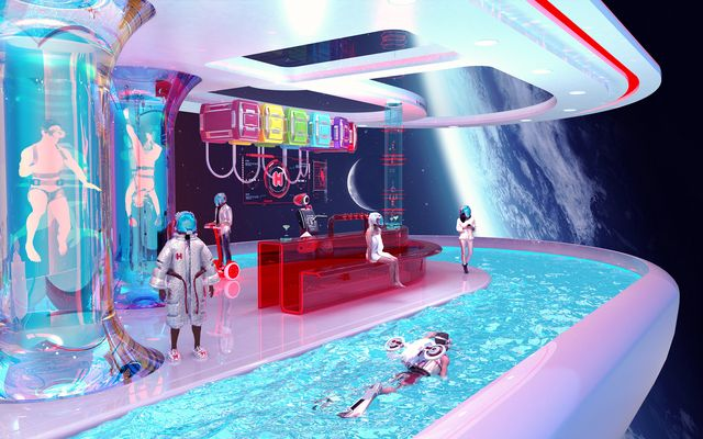 future space hotel