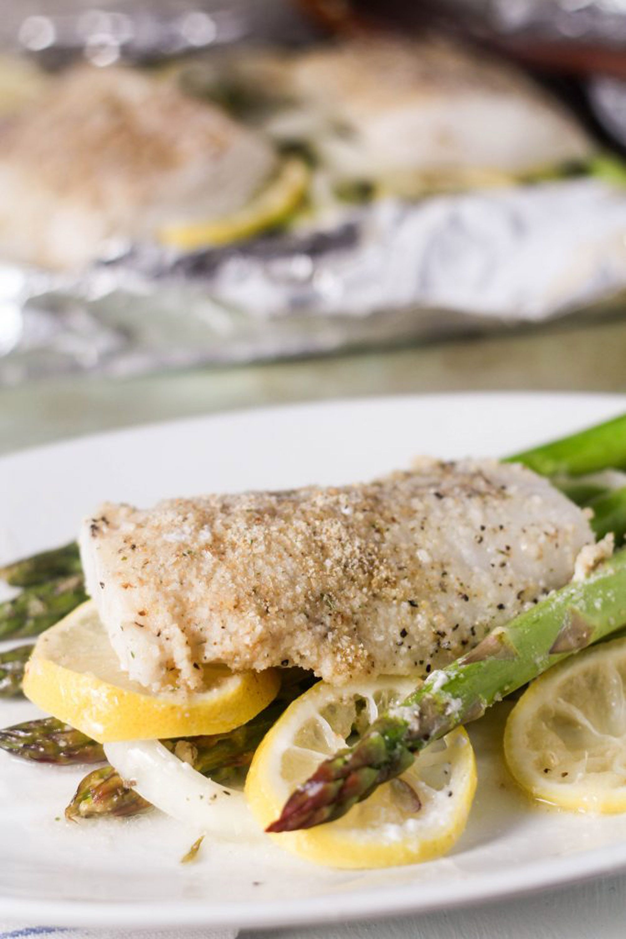 how to cook smoked cod in foil