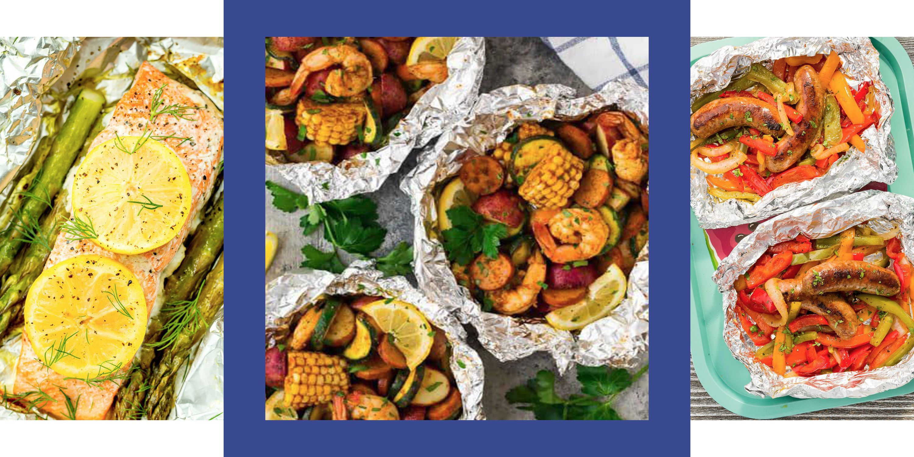 15 Foil Packet Dinner Ideas That Are Loaded With Protein and Veggies