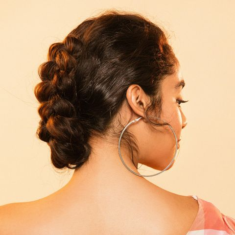 How To Style A Braided Bun The Best Braided Bun Style