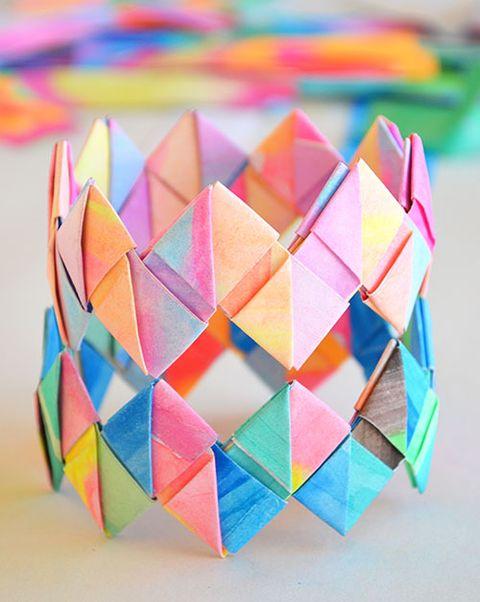 folded-paper-bracelets